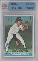 Catfish Hunter [BVG/JSA Certified Auto]