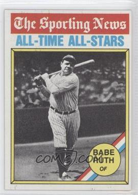 1976 Topps - [Base] #345 - Babe Ruth