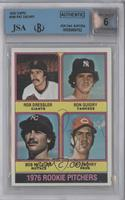 1976 Rookie Pitchers (Rob Dressler, Ron Guidry, Bob McClure, Pat Zachry) [BGS/J…