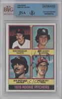 1976 Rookie Pitchers (Rob Dressler, Ron Guidry, Bob McClure, Pat Zachry) [BVG/J…
