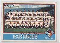 Texas Rangers Team [Poor]
