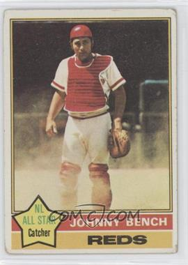 1976 Topps #300 - Johnny Bench