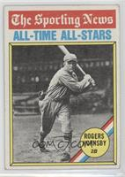 Rogers Hornsby [GoodtoVG‑EX]