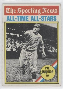 1976 Topps #343 - Pie Traynor [Good to VG‑EX]