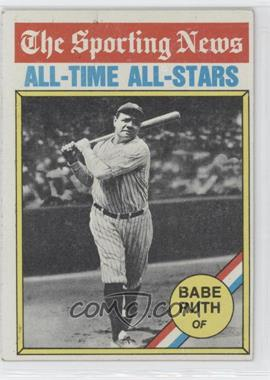 1976 Topps #345 - Babe Ruth