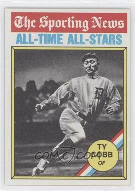 1976 Topps #346 - Ty Cobb