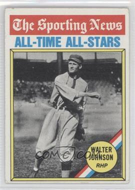 1976 Topps #349 - Walter Johnson