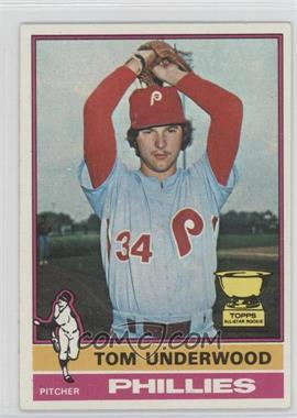 1976 Topps #407 - Tom Underwood