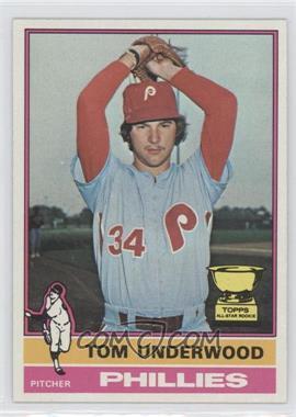 1976 Topps #407 - Tom Underwood