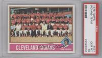 Cleveland Indians Team [PSA10]