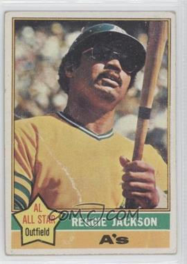 1976 Topps #500 - Reggie Jackson