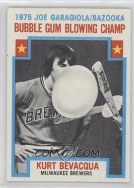 1976 Topps #564 - Kurt Bevacqua