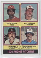 Mike Flanagan, Pablo Torrealba, Santo Alcala, Joe Pactwa