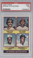 Henry Cruz, Chet Lemon, Ellis Valentine, Terry Whitfield [PSA 7]