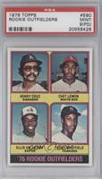 Henry Cruz, Chet Lemon, Ellis Valentine, Terry Whitfield [PSA 9 (PD)]