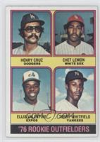 Henry Cruz, Chet Lemon, Ellis Valentine, Terry Whitfield