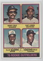 Henry Cruz, Chet Lemon, Ellis Valentine, Terry Whitfield