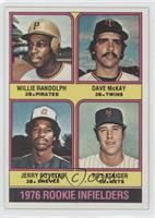 1976 Rookie Infielders (Willie Randolph, Dave McKay, Jerry Royster, Roy Staiger)