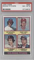Randy Lerch, Sid Monge, Steve Barr, Art Decatur, Art DeFilippis [PSA 8]