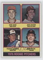 Rookie Pitchers (Don Aase, Jack Kucek, Frank LaCorte, Mike Pazik) [Good to…