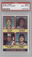 Rookie Pitchers (Don Aase, Jack Kucek, Frank LaCorte, Mike Pazik) [PSA8]