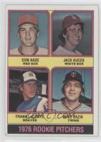 Rookie Pitchers (Don Aase, Jack Kucek, Frank LaCorte, Mike Pazik) [Goodto…