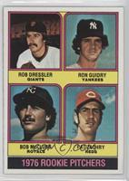 1976 Rookie Pitchers (Rob Dressler, Ron Guidry, Bob McClure, Pat Zachry) [Good&…