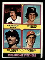 1976 Rookie Pitchers (Rob Dressler, Ron Guidry, Bob McClure, Pat Zachry) [VG]