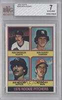 1976 Rookie Pitchers (Rob Dressler, Ron Guidry, Bob McClure, Pat Zachry) [BVG&n…