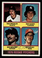 1976 Rookie Pitchers (Rob Dressler, Ron Guidry, Bob McClure, Pat Zachry) [VG&nb…