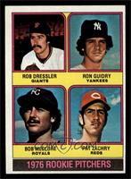 1976 Rookie Pitchers (Rob Dressler, Ron Guidry, Bob McClure, Pat Zachry) [EX&nb…