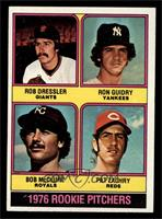 1976 Rookie Pitchers (Rob Dressler, Ron Guidry, Bob McClure, Pat Zachry) [NM]