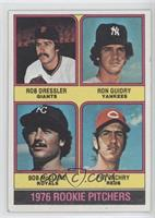 1976 Rookie Pitchers (Rob Dressler, Ron Guidry, Bob McClure, Pat Zachry)