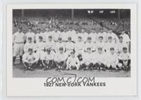 Checklist (1927 New York Yankees Team)