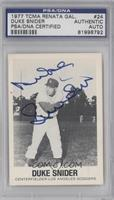 Duke Snider [PSA/DNA Certified Auto]