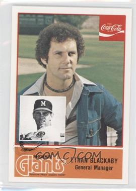 1977 Cramer Pacific Coast League - [Base] #60 - Ethan Blackaby