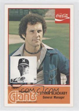 1977 Cramer Pacific Coast League #N/A - Ethan Blackaby