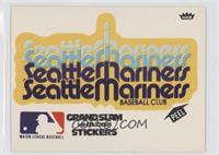 Seattle Mariners (White Background)