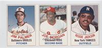 Jim Palmer, Joe Morgan, Reggie Jackson