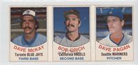 Dave McKay, Bob Grich, Dave Pagan