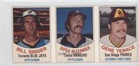Bill Singer, Doyle Alexander, Gene Tenace