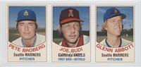 Pete Broberg, Joe Rudi, Glenn Abbott