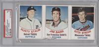 Rusty Staub, Jim Barr, Butch Wynegar [PSA5]