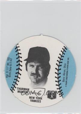 1977 MSA Discs Burger Chef #THMU - Thurman Munson