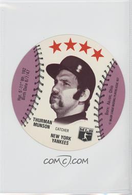1977 MSA Discs Chilly Willee Frozen Drinks #THMU - Thurman Munson