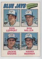Harry Warner, Don Leppert, Bob Miller, Jackie Moore [GoodtoVG&#8209…