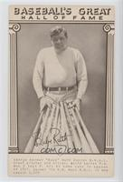 Babe Ruth (With Bats) [Good to VG‑EX]