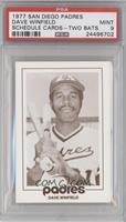 Dave Winfield (Type I - 2 Bats on Shoulder) [PSA 9]