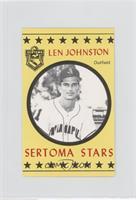 Len Johnston