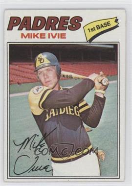 1977 Topps - [Base] #325 - Mike Ivie